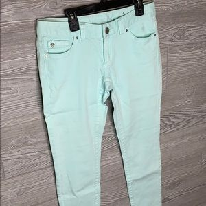 Cache New with Tags Mint Jeans
